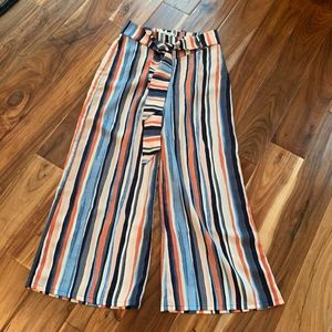 Bar III Wide leg pants size Medium